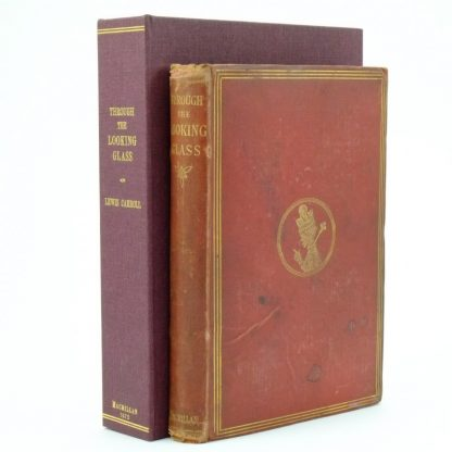 Through The Looking Glass First Edition by Lewis Carroll 1872