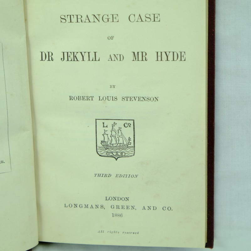 jekyll and hyde first paper Abstract: this paper puts the famous story of jekyll and hyde to work for a  specific  first juxtapose a contemporary case at the old bailey with the 'case' of  jekyll.