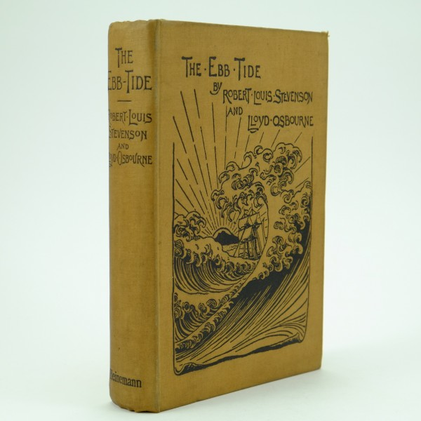 The Ebb Tide First Edition by Robert Louis Stevenson
