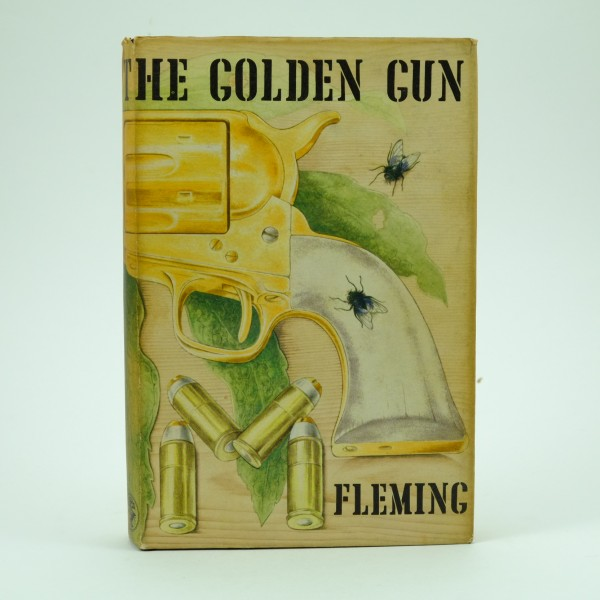 The Man with the Golden Gun First Edition Ian Fleming 1965