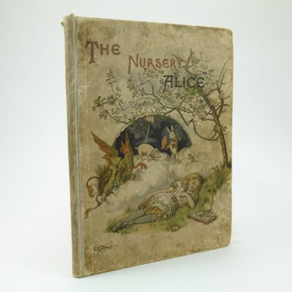 The Nursery Alice First Edition by Lewis Carroll