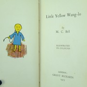 Little Yellow Wang Lo M.C.Bell Dumpy Books 1st edition