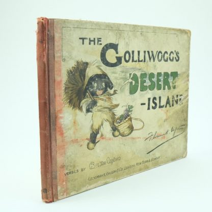 The Golliwoggs Desert Island First Edition Florence Upton