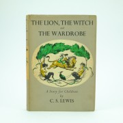 The Lion The Witch and the Wardrobe 3rd impression C.S. Lewis