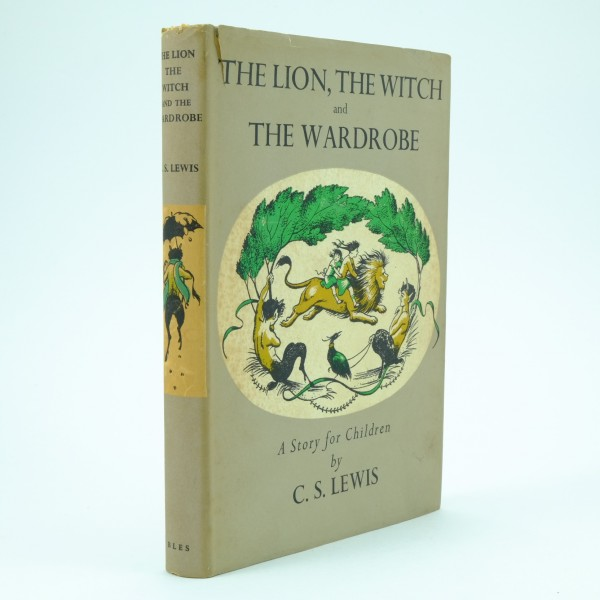 The Lion The Witch and the Wardrobe First Edition C.S. Lewis Third Impression