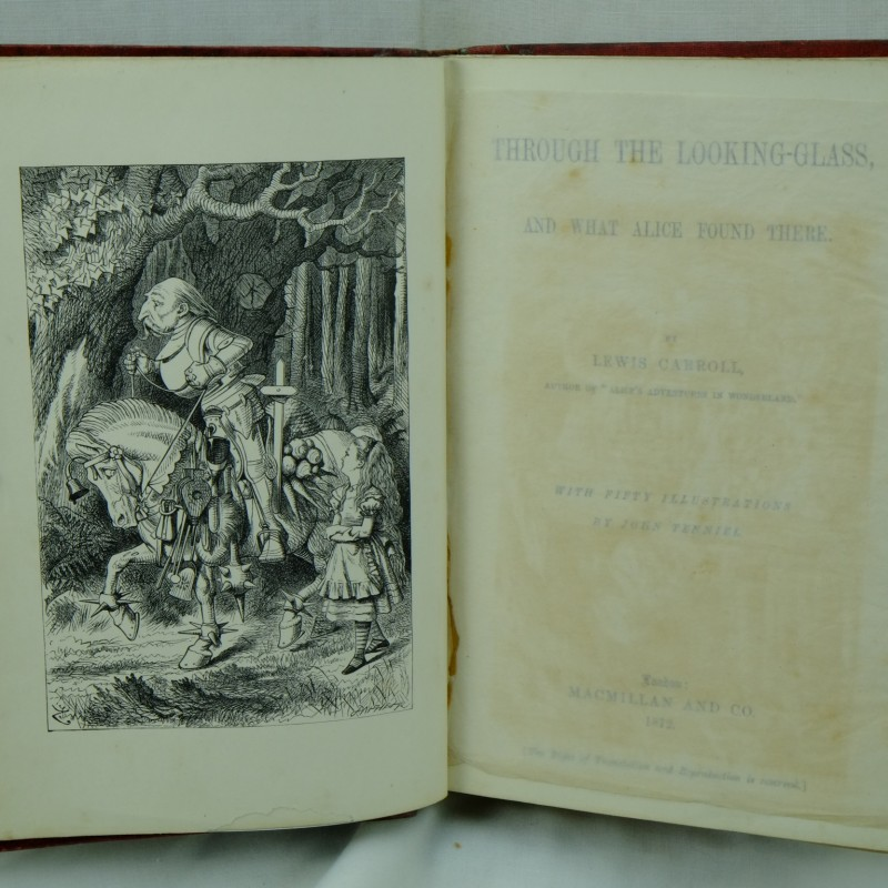 lewis carrolls through the looking glass essay Lewis carrolls major works include: alice's adventures in wonderland (1865) bruno's revenge (1867) phantasmagoria: and other poems (1869) through the looking glass and what alice found there (1871.