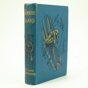 Treasure Island First Edition by Robert Louis Stevenson