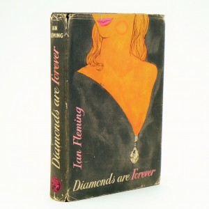 Diamonds Are Forever First Edition by Ian Fleming