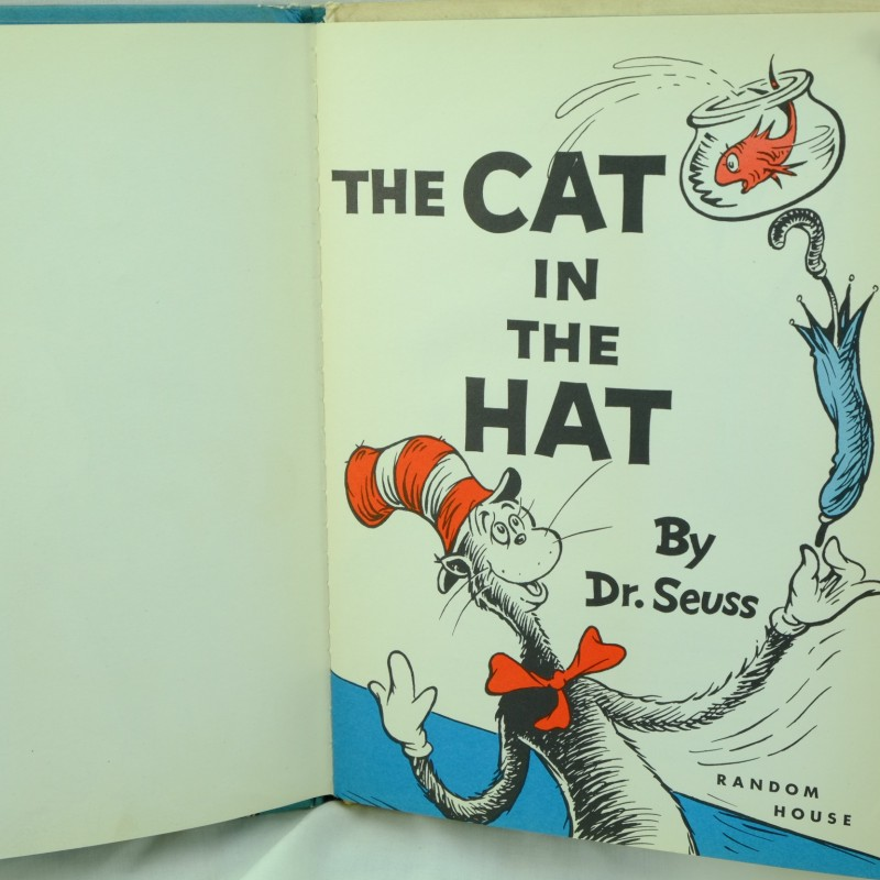 First Edition The Cat In Hat By Dr Seuss