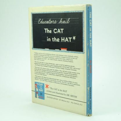 The Cat in the Hat by Dr Seuss. First edition