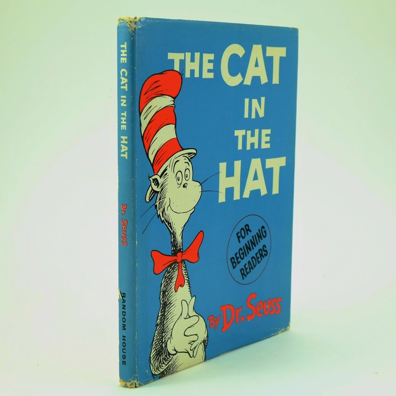 the cat in the hat first edition by dr seuss