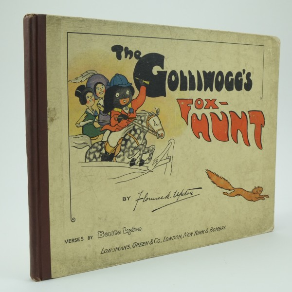 The Golliwoggs Fox Hunt First Edition by Florence Upton