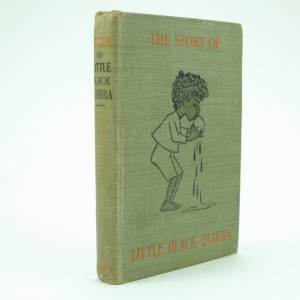 The Little Black Quibba First Edition by Helen Bannerman, first edition.