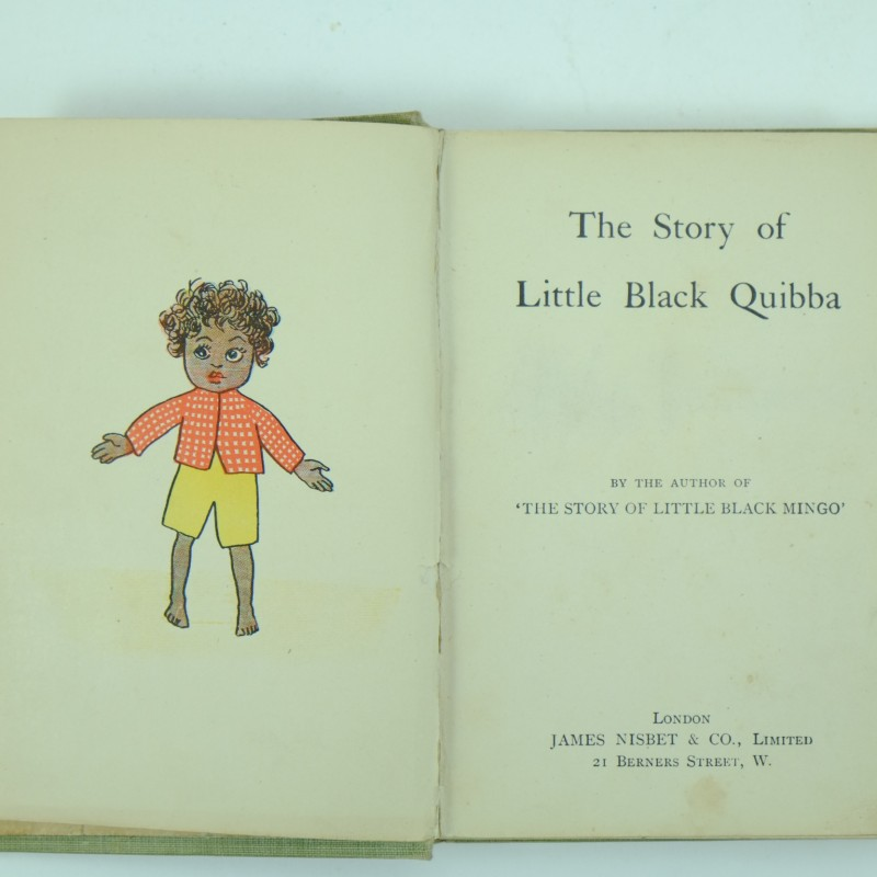 the little black sambo by helen bannerman essay Buy a cheap copy of the story of little black sambo book by helen bannerman the jolly and exciting tale of the little boy who lost his red coat and his blue trousers and his purple shoes but who was saved from the tigers to eat 169 pancakes.