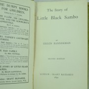 The Story of Little Black Sambo Helen Bannerman 1st Edition 2nd printing