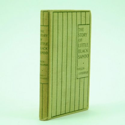The-Story-Of-Little-Black-Sambo-Helen-Bannermann-1st-edition-2nd printing
