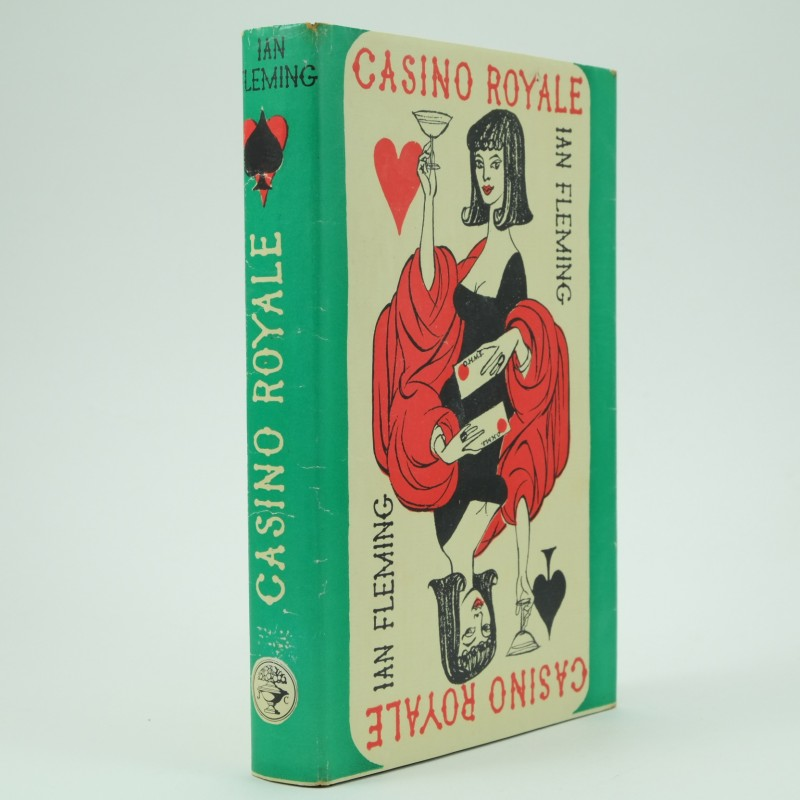 Casino Royale - Ian Fleming 1st Edition First Impression Jonathan Cape 1953