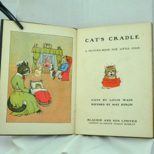 Cats Cradle, A Children's Picture Book by Louis Wain