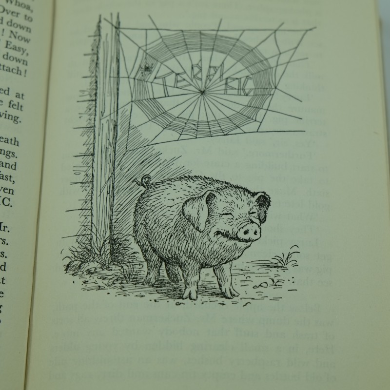 Printable Charlotte S Web Book Cover : Charlotte s web by e b white first uk edition rare