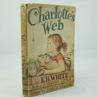 Charlotte's Web by E.B. White first edition