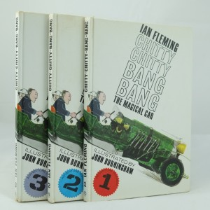 Chitty Chitty Bang Bang: 3 First Edition by Ian Fleming