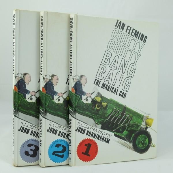 Ian Fleming CHITTY CHITTY BANG BANG Hardcover book Chittychitty Bangbang c 1964