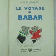 Le voyage de Babar by Jean de Brunhoff Roth & Co