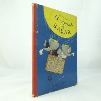 Le voyage de Babar by Jean de Brunhoff Roth & Co
