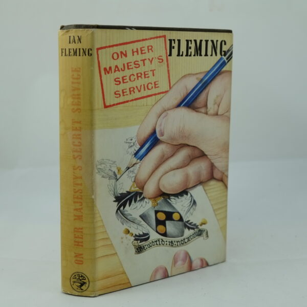 On Her Majestys Secret Service Ian Fleming First Edition