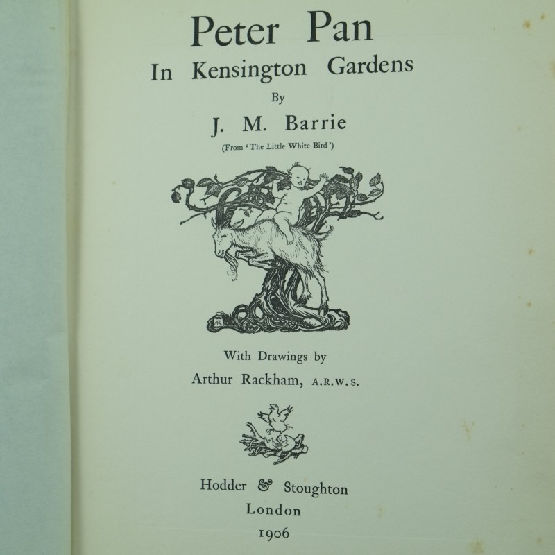 Peter Pan in Kensington Gardens by J.M Barrie, Illustrated by Arthur ...