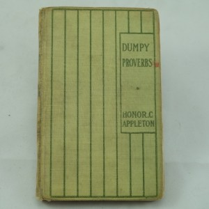 Dumpy Proverbs by Honor Appleton : first edition