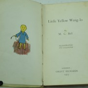 Little Yellow Wang-Lo by M.C. Bell Dumpy book 1st edition