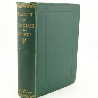Origin of Species by Charles Darwin 6th edition