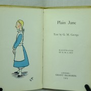 Plain Jane, A 1st edition Dumpy book by Fry & George