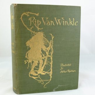 Rip Van Winkle illustrated by Arthur Rackham; first edition