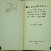 The Bountiful Lady by T. Cobb: Dumpy 1st ed