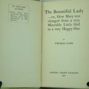 The Bountiful Lady by T. Cobb: Dumpy 1st ed