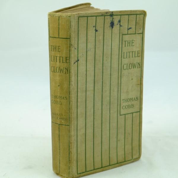 The Little Clown by T. Cobb 1st ed Dumpy Book