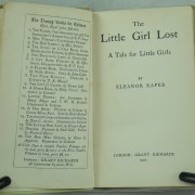 The little Girl Lost by Eleanor Raper 1st edition
