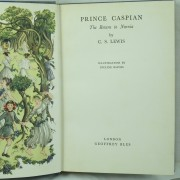 Prince Caspian by C. S. Lewis: first edition