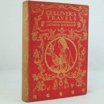 Gulliver's Travels by Jonathan Swift , illus by Arthur Rackham