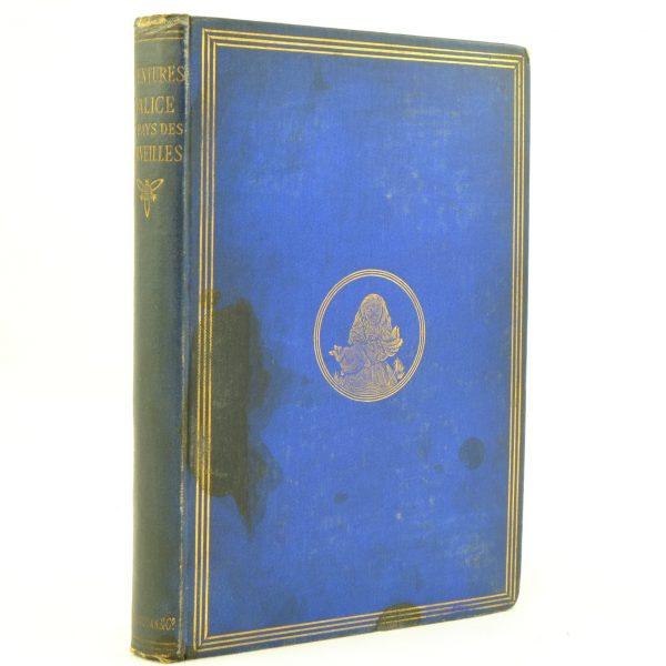 Aventures d'Alice au Pays des Merveilles. L Carroll. French 1869 (1)