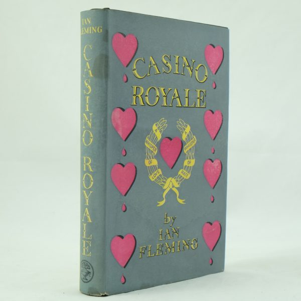 Casino Royale by Ian Fleming 1st Edition (4)