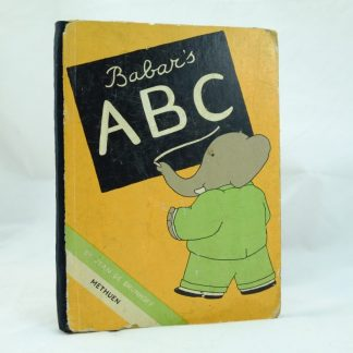 First Edition of ABC Babar Methuen