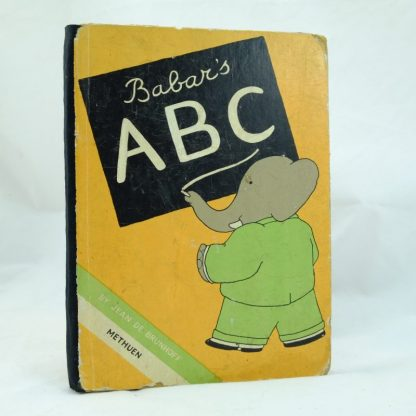 First Edition of ABC Babar Methuen (9)