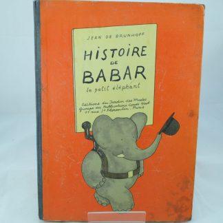 Histoire de Babar by Jean de Brunhoff (