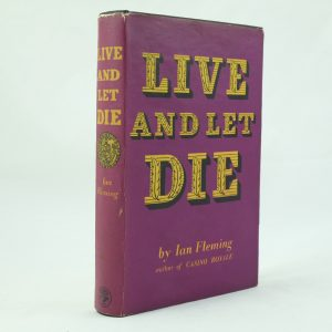 Live and Let Die by Ian Fleming 1st Edition (9)