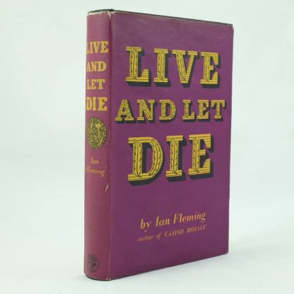 Live and Let Die by Ian Fleming 1st Edition (10)