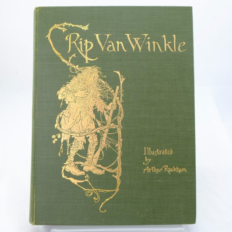 rip van winkle by washington irving Rip van winkle and the legend of sleepy hollow are washington irvingfs  masterpieces known as the father of american literature, irvingfs unusual  stories.