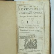 Robinson Crusoe Daniel Defoe early editions